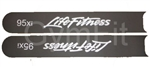 Life Fitness 95Xi Link Cover Overlay Set of 2