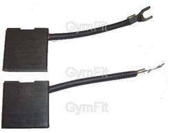 Powerjog Brush Set For Leeson Motor Treadmills