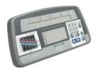 Life Fitness Life Cycle 9500 HR Overlay & Plastic Bezel Console Assy