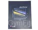 Life Fitness 9500 Next Gen Zone Training Console Decal