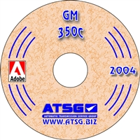 ATSG Manual on CDROM for GM Turbo 350 Transmission 1969-86