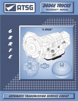 ATSG Manual for Chrysler/Dodge 68RFE Transmission (6.7L Diesel)