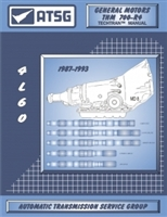 ATSG Manual for 1987-93 Chevy/GM 700-R4 Transmission
