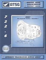 ATSG Manual for Chrysler/Mercedes 722.6 (NAG 1) Transmission