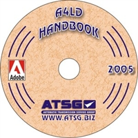 ATSG Update Supplement on CDROM for Ford A4LD overdrive Transmission Rebuild Manual