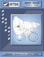 ATSG Manual for Chrysler TFOD A500/518/618 Trans