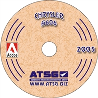 ATSG Rebuild Manual on CDROM Chrsyler A606 (42LE) Overdrive Automatic Transaxle