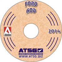 ATSG Manual on CDROM for Ford AOD Transmission