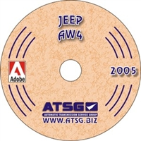 ATSG Manual on CDROM for Jeep AW4 Transmission