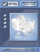 ATSG Manual for Ford AXOD Transmission / Transaxle