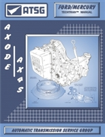 ATSG Manual for Ford AXODE/AX4S Transmission / Transaxle