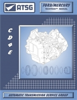 ATSG Manual for 1994-up Ford/Mazda CD4E Transmission / Transaxle