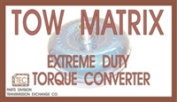 Tow Matrix Extreme Duty Billet Torque Converter for 1989-up Ford E4OD/4R100 with 4 stud flexplate