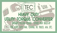 Heavy Duty Torque Converter for 1971-up Ford C6 with small pilot
