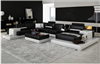Modern Platform Sectional Sofa Set with Matching Table and Storage Server CP-2220