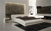 Chobham White HD Contemporary Platform Bed CP-B1112-WH