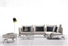 Modern Beige Fabric Sectional Sofa TOS-ANM9777