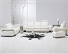 White Leather Living Room Set TOS-FY560-4