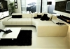 Franco Collection Modern Sectional Sofa - White TOS-LF-1007-WHITE
