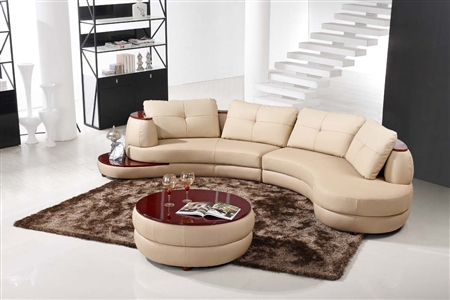 Modern Beige Sectional Sofa Furniture TOS-LF-108