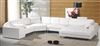 Modern White Sectional Sofa TOS-LF-2236