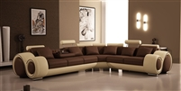 Italian Design Franco Sectional Sofa TOS-LF-4087