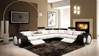 Italian Design Franco Sectional Sofa TOS-LF-4087-WB