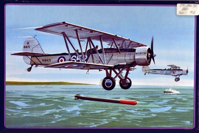 AMT #A605 1/72 Blackburn Shark