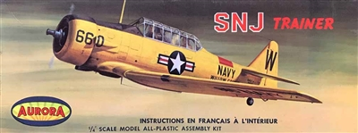 Aurora  #80 1/48 SNJ Trainer Willow Grove NAS (Canada Issue)