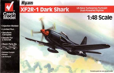 Czech Models #4816 1/48 Ryan XF2R-1 Dark Shark