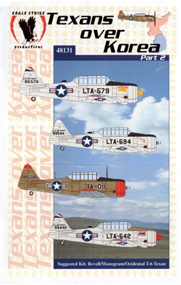 Eagle Strike Productions #48131 1/48 Texans over Korea Part II