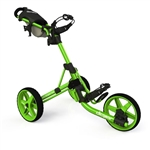 Clicgear Model 3.5+ Push Cart - Arctic/White