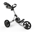 Clicgear Model 3.5+ Push Cart - Silver/Black