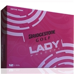 Bridgestone 2015 Lady Precept Pink Golf Balls - 1 Dozen