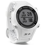 Garmin Approach S2 Golf GPS Watch - White/Grey