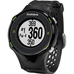 Garmin Approach S4 Golf GPS Watch - Black/Green