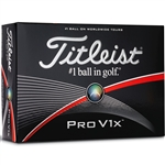 Titleist Pro V1x Personalized Golf Balls - 1 Dozen