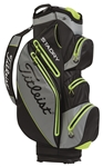 Titleist StaDry Cart Bag - Black/Grey/Citron