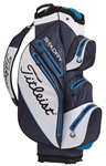 Titleist StaDry Cart Bag - Navy/White/Blue