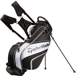 TaylorMade TM Pro Stand 4.0 Golf Bag - Black/White