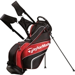 TaylorMade TM Pro Stand 4.0 Golf Bag - Black/Red/White