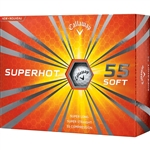 Callaway Superhot 55 Golf Balls White - 1 Dozen
