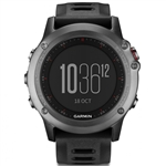 Garmin Fenix 3 Multisport GPS Watch - Gray/Black