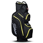 Titleist Deluxe Cart Golf Bag - Black/Lime