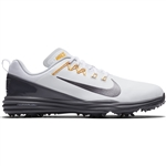 Nike Lunar Command 2 Men's Golf Shoes - White/Dark Grey
