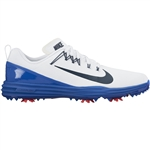 Nike Lunar Command 2 Men's Golf Shoes - White/Navy