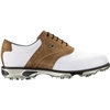 Footjoy Dryjoys Tour Men's Golf Shoes - White/Taupe Bomber