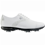 Footjoy Tailored Collection Women's Golf Shoes 91654 - White/White Croc