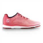 Footjoy emPOWER Women's Golf Shoes 98002 - Red/Pink