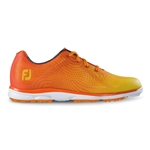 Footjoy emPOWER Women's Golf Shoes 98005 - Orange/Yellow